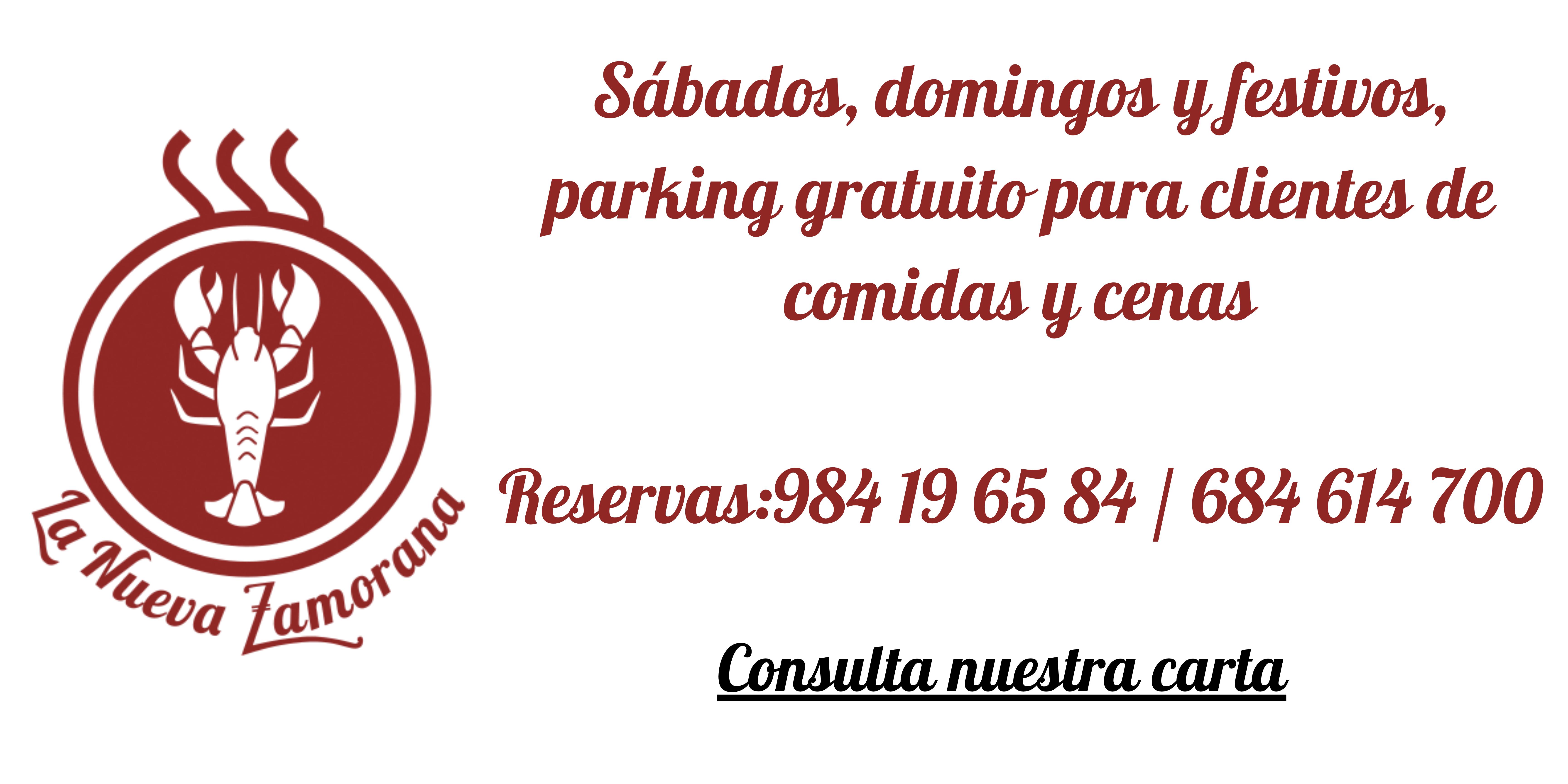 Parking gratuito clientes